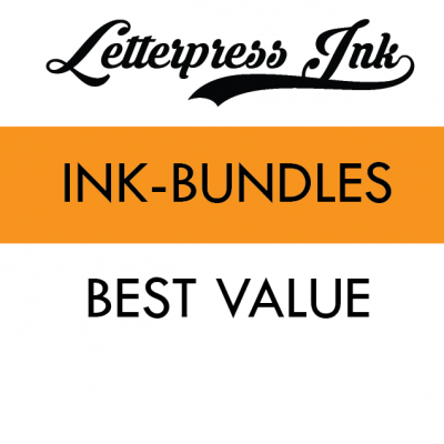 Letterpress Ink Bundles